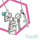 Find Joy in the Journey with our 100% Pewter Tag Line