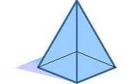 A normal square based pyramid.