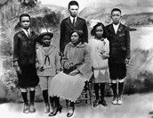 Jackie Robinson's family