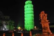 St.Patrick's day in Pisa