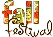 Fall Festival and Book Fair Reminders