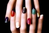 pintarse la uñas