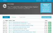 New Course Registration System