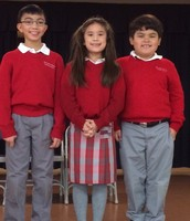 First to Third Grade Winners