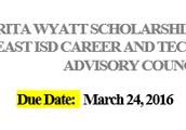 Surita Wyatt Scholarship
