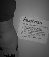 Anorexia is not the answer.