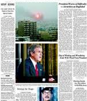 News Paper about war