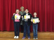 Spelling Bee Winners!