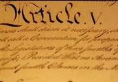 Article V- Amendment Process (AFTER)