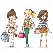 The stylish shoppers come here