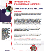 Inferring During Reading