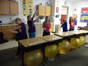 """Kids had fun with the """"Dino Stomp"""" today!"""