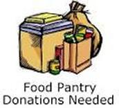 we raise money for food pantries