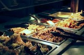our buffet