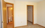 Large master suites with walk-in closets