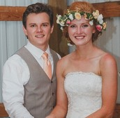 Melissa Meeks and Parker White tied the knot