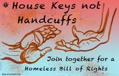 Join together for a homeless Bill of Rights