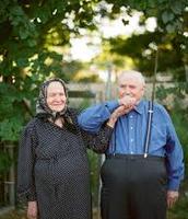Older Romaian Couple