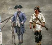 The iroquois  were tired of British colonist taking over their property.