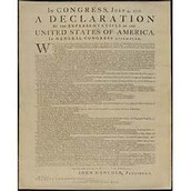 The Declaration of Indpendence