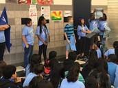 Blue Team Showed their Super Games Spirit!