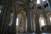 Intérieur de Madeleine de Vézelay