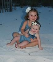My growing girls!