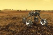 Rover on Venus