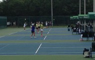 Tennis Tournament in Action