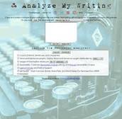 Analyze My Writing