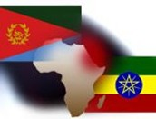 Ethiopian and Eritrean Flags