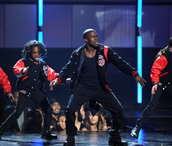 Dancing on BET Awards Show