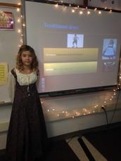 4th Grade Heritage Presentations . . .