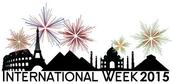 Thank You from International Week Organizers