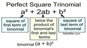 How to factor a perfect square