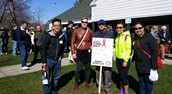 The Rotaract Club Of Toronto Joined The Rotary AIDS Poker Walk