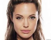 Angelina Jolie as fair Gwen