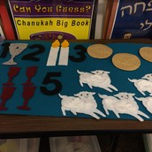 Felt Pesach Counting Activity