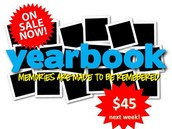 Yearbooks on Sale - $45.00
