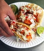 Tacos de pescados (sieteciento y cuarenta) 740 pesos