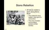 What is the Stono Rebellion