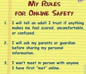 Ways to stay safe online: