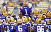 Come make a big 4th down stop with your LSU Tigers