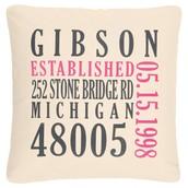 Established Pillow