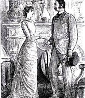 Victorian male and women