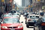 Traffic of Toronto