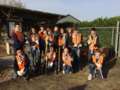 Service Learning was awesome!