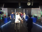Quiet On The Set!  Galway Masterminds Team Films At Proctors GE Studio