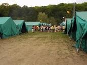 Was zu tun ist im Camp