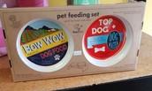 Vintage Dog Feeding Set...